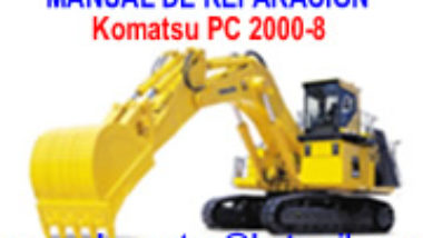 Manual de Reparacion caterpillar Komatzu pc2000-8