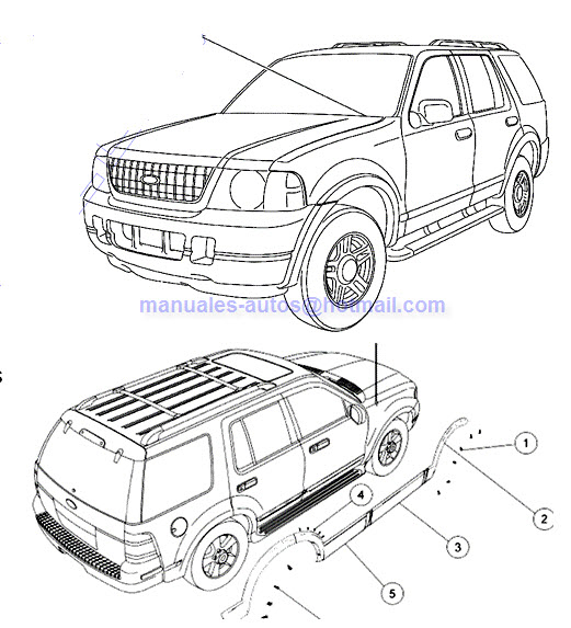 Ford Explorer 2006 2007 Manual de Reparacion Mecanica