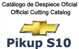 Manual Catalogo De Despiece Chervrolet Pickup S10 2002-2006