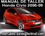 Honda Civic 2007 2008 Manual de Reparación y Mecanica
