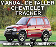 manual de reparacion de chevrolet tracker