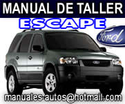 Manual De Reparacion Ford Escape 2005 2006 2007 2008 2009