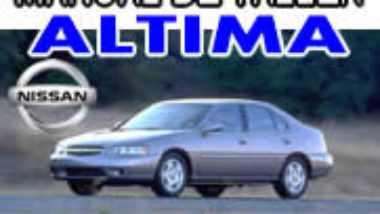 Manual De Reparacion Nissan Altima 1997 1998 1999 2000