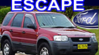 Manual De Reparacion Ford Escape 2003