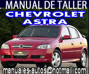 Manual De Reparación Chevrolet Astra 2000 2001
