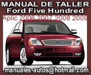 Five Hundred 2007 2008- Manual De Mecanica y Taller Ford