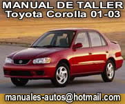 2001 toyota corolla repair manual