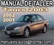 Ford Taurus 2002 – Manual De Taller y Reparacion  repair7