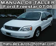 Ford Freestar 2007 2008 – Manual De Reparacion y Taller