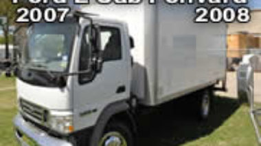 service manuals Ford Low Cab Fonvard 2008