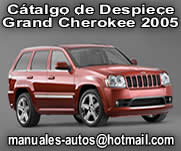 Grand Cherokee 2005 - Manual Cátalogo De Despiece