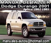 manual de taller Dodge durango 2001 02 03