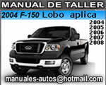 manual de taller y diagnostico ford lobo 150 2004 2005