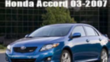 Manual De Mecanica y Taller Honda Accord 2003 2004 2005