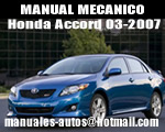 Manual De Mecanica Honda Accord 2003-2007