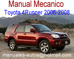 Toyota 4Runner 2006 2007 2008 Manual De Mecanica y Reparacion – Repair7