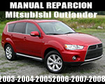 Mitsubishi Outlander 03-08 Manual Reparacion