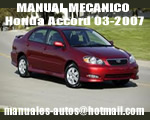 Manual De Mecanica y Reparacion Honda Accord 2006 2007