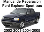 ford explorer sport trac 2002, 2002 2003 2004 2005