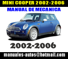 mini cooper bmw 2002 2003 2004 2005 2006 manual de. Black Bedroom Furniture Sets. Home Design Ideas