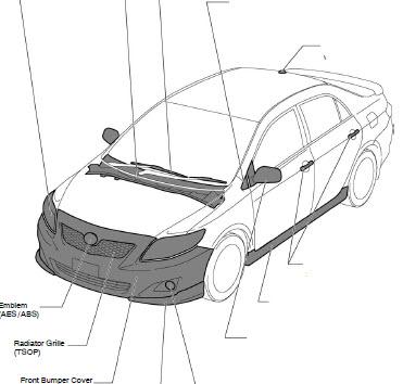 Toyota Corolla 2009 2010 Workshop Service Repair Manual - Carservice