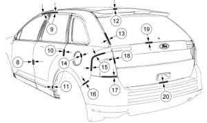 ford edge 2013 manual de mec u00e1nica y reparaci u00f3n taller